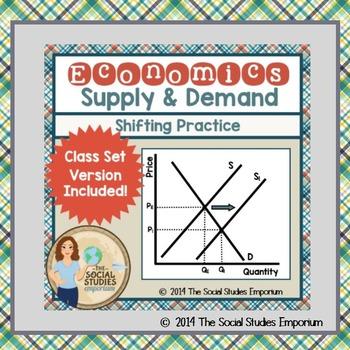 Economics: Supply & Demand Shifting BUNDLE!