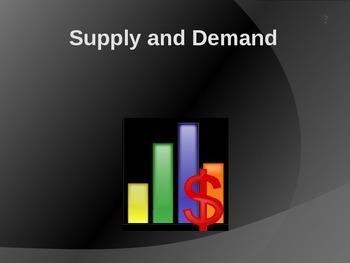 Economics - Supply and Demand