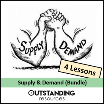 Economics: Supply and Demand Bundle  (4 Lessons) + loads of resources