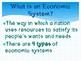Economics Systems Presentation & Activities