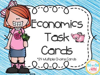 Economics Task Cards