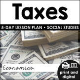 Taxes for Google Classroom™ | Distance Learning