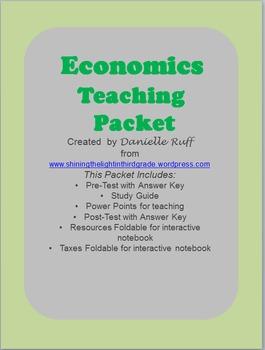Economics Teaching Packet