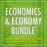 Economics Resources: A Bundle of Engaging Resources On Mon