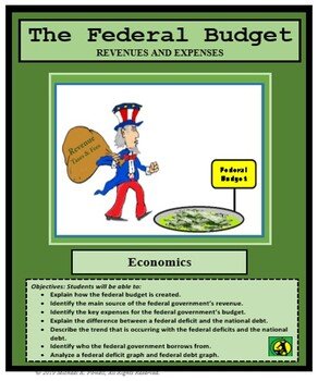 Economics Lesson, The Federal Budget, National Debt