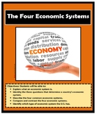 Economics: THE FOUR ECONOMICS SYSTEMS - Mixed - Command - Market