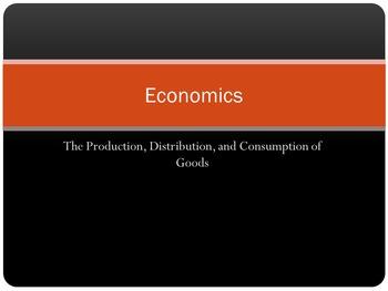 Economics and World Trade