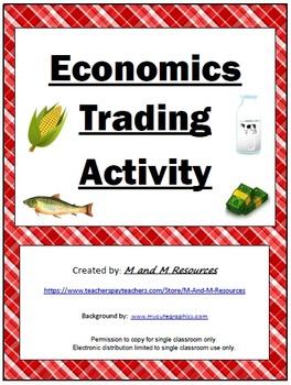 Economics Trading Game Activity