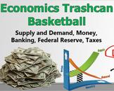 Economics Trashcan Basketball