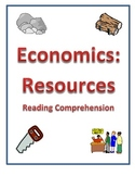 Economics - Types of Resources Reading Comprehension