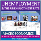 Economics - Unemployment and Inflation Power Point High School