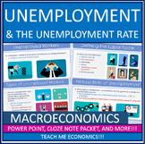 Economics - Unemployment and Inflation Power Point Bundle