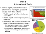 Economics Unit 2 Notes (Global Trade, Comparative Advantage, Currency Exchange)
