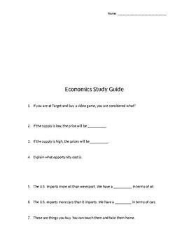 Economics Unit