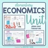 Economics Unit: Wants & Needs, Goods & Services, Saving & Spending