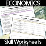 Economics Activity Pack   PRINT + DIGITAL   Distance Learning