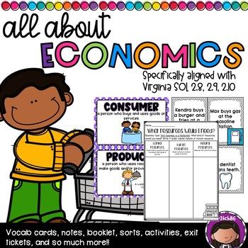 Economics Unit (SOL 2.8, 2.9, 2.10)