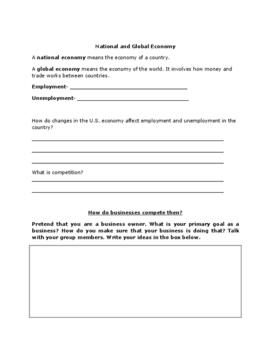Economics Unit Study Guide