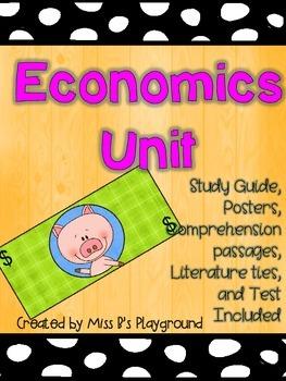 Economics Unit for Primary Study {{Updated}}