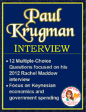 Economics Video Lessons: Paul Krugman Interview