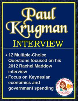 Economics Video Lessons: Paul Krugman Interview