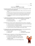 Economics Video Study Guide: Wreck-It Ralph