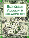 Economics Vocabulary & Activity Packet   NO PREP!