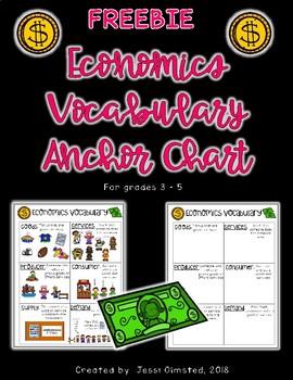 Economics Vocabulary FREEBIE!