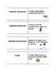 Economics Vocabulary Flash Cards
