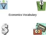 Economics Vocabulary Powerpoint