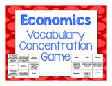 Economics Vocabulary Practice Cards