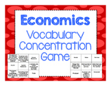 Economics Vocabulary Practice Cards