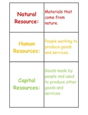 Economics Vocabulary Relay Game