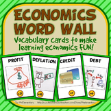 Economics Vocabulary Word Wall