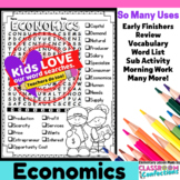 Economics Word Search Activity