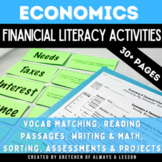 Elementary Economics & Financial Literacy Activities