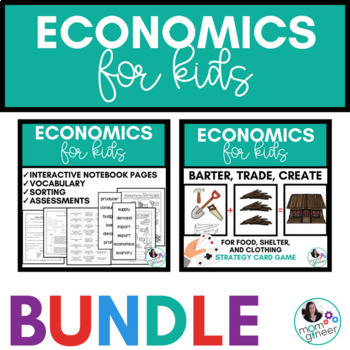 Economics for Kids BUNDLE