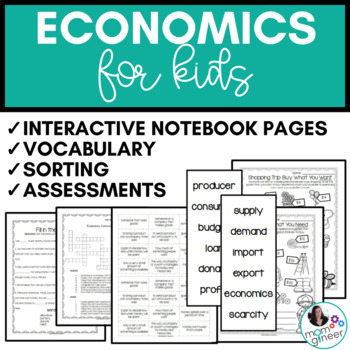 Economics Activities - Sorting & More
