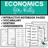 Economics Activities - Sorting & More