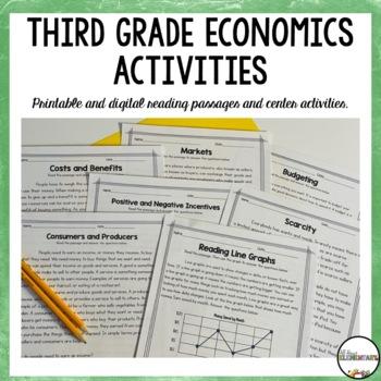 Third Grade Economics Activities