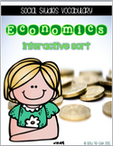 Economics Interactive Vocabulary Sort