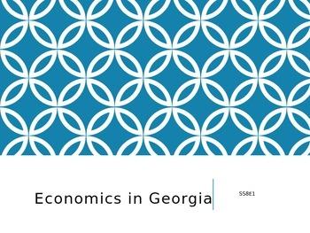 Economics in Georgia