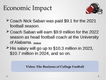 Economics in Sports & Entertainment