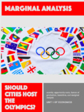 Marginal Analysis of Hosting the Olympics