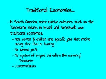 Economics of Latin America Interactive Notes (INCLUDES Activity!)