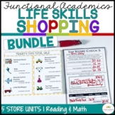 Economics of Shopping: Functional Literacy and Math Bundle (Special ed.; autism)