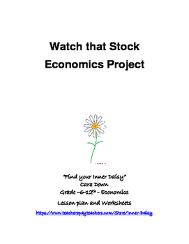 Watch that Stock - Economics short 2 week project
