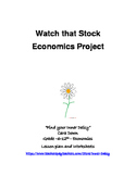 Watch that Stock - Economics short 2 week project