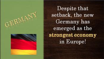European Economies  SS6E5c