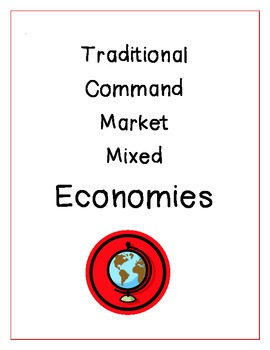 Economies in Our World